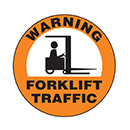 Warning Forklift Traffic