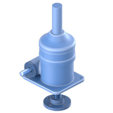 High-Efficiency Inverted Ball Screw Jacks