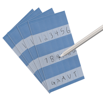 Write-On Self-Laminating Books