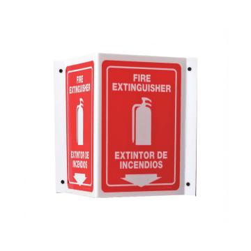 Bilingual Fire Extinguisher