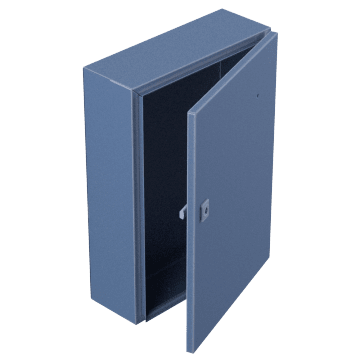 Corrosion-Resistant with Hinged Cover