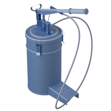 Lever-Handle Pumps with Container