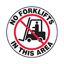 No Forklifts in This Area