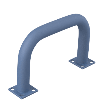 Floor Mount Machine Guards