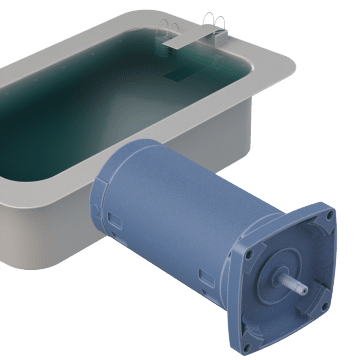 Square Flange Pool & Spa Pump Motors