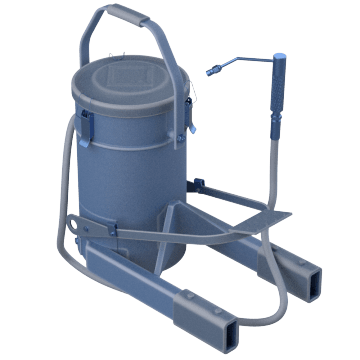 Foot-Pedal Pumps with Container