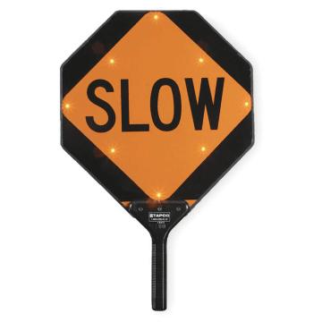 Slow LED Paddles