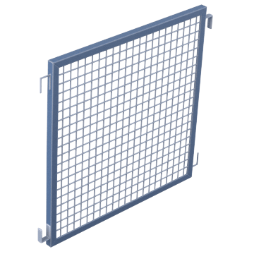Modular Machine Guard System Panels