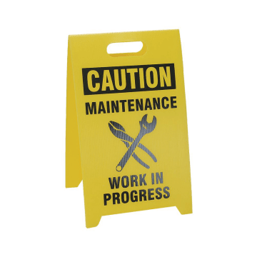 Caution Maintenance Area Authorized Personnel Only