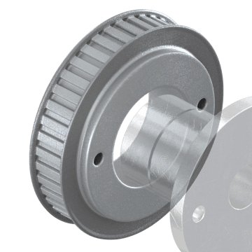 "H Series (0.500"" Pitch) with Bushed Bore"