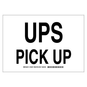 UPS Pick Up