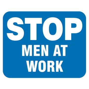 Stop Men at Work