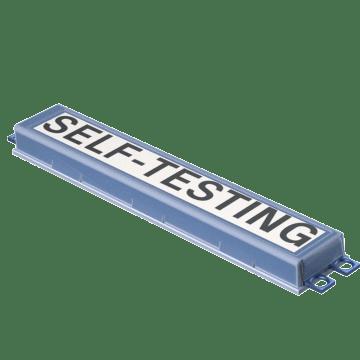 Self-Testing Emergency Backup Ballasts