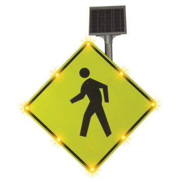 Pedestrian Crossing LED Signs