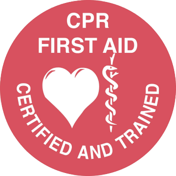 CPR First Aid Certified and Trained