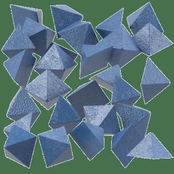 Lightweight Plastic Pyramids