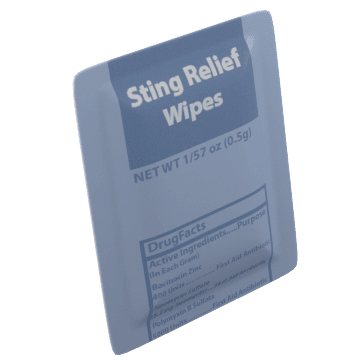 Sting Relief Wipes