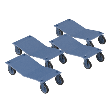 Cradle-Style Vehicle Dollies