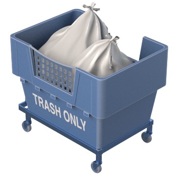 Trash & Recycling Carts