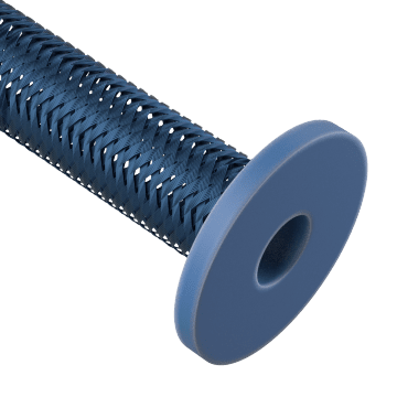 Hose Assemblies with Flange Ends