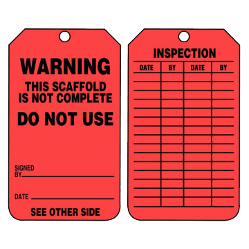 Warning This Scaffold is Not Complete Do Not Use