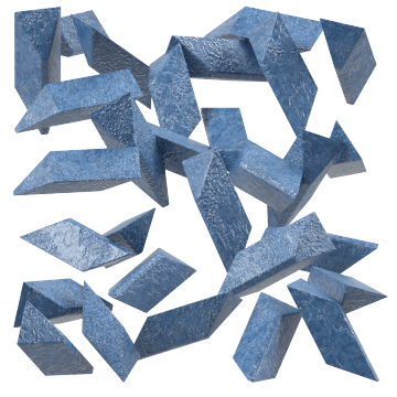 Heavyweight Ceramic Polyhedrons