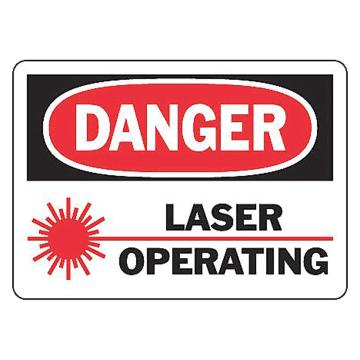 Danger Laser Operating