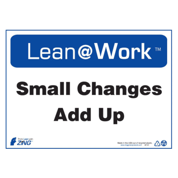 Lean at Work Small Changes Add Up