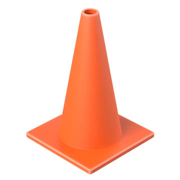 General Purpose Traffic Cones