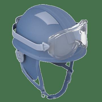Rescue Helmets with No Brim