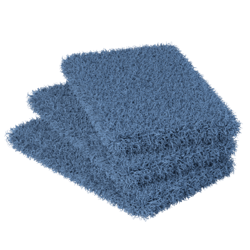 Durable & Corrosion Resistant Mesh Pads