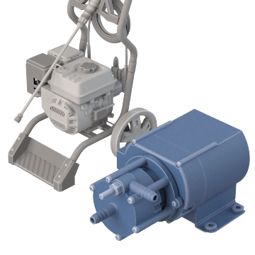 For Carpet Cleaner & Pressure Washer Applications