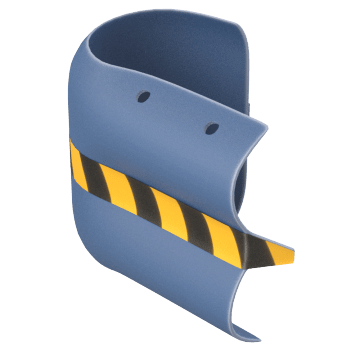 W-Beam Guardrail End Guards