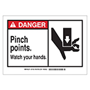 Danger Pinch Points Watch Your Hands