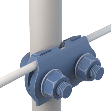 Swing U-Shaped Pipe Clamps
