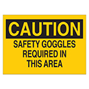 Safety Goggles Required in This Area