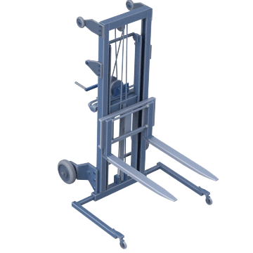 Adjustable Lift Range with Invertible Forks