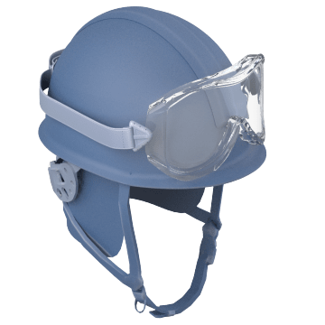 Modern Firefighting Helmets with No Brim