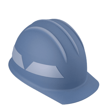 Firefighting Helmets with Front Brim