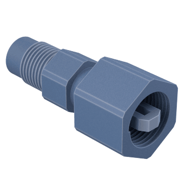 "1/4"" Access Valve Coupler with Depressor"