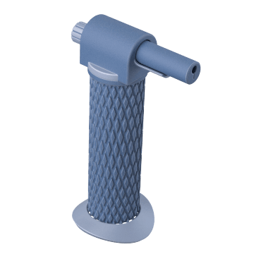 Hands-Free: Integrated Refillable Cylinder Base