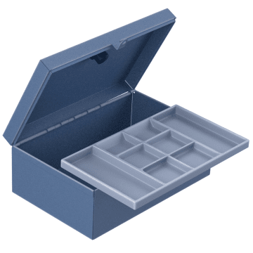 With Removable Tray