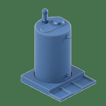 Metering Pump Tanks