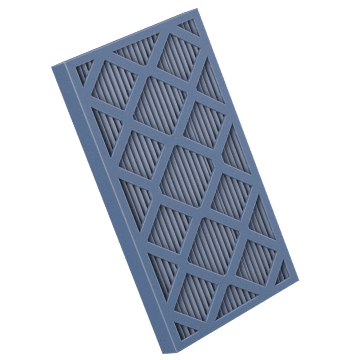 "2"" Mini-Pleat Air Filter"