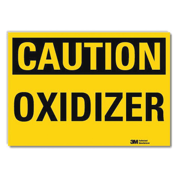 Caution Oxidizer