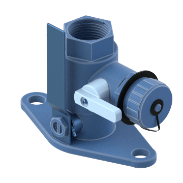 Flanged Ball Valves with Drain