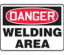 Danger Welding Area