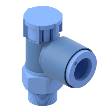 Adjustable & Corrosion Resistant Elbow - NPT Thread