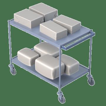 Easy Load & Unload Flush Shelves