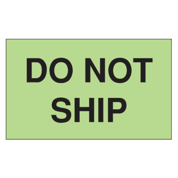 Do Not Ship